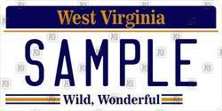 American West Virginia State Number