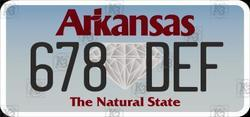American Arkansas State Number