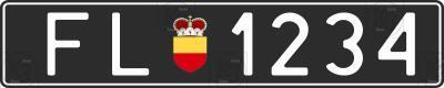 Автомобільний номер Ліхтенштейну