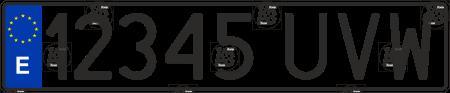 Car number spain
