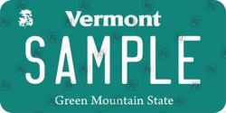 US Vermont State Number