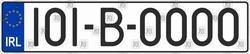 Ireland car number